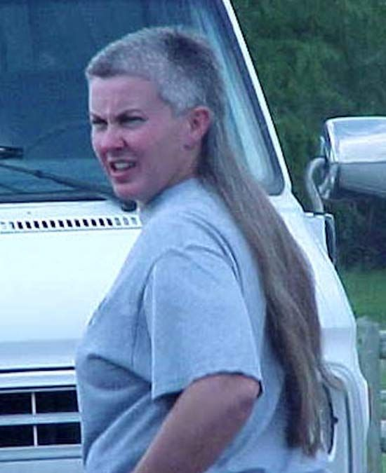 "Grandma ~ 35 of the Best Mullets (""BIZNESS in the Front; PARTY in the back! Yep!)"
