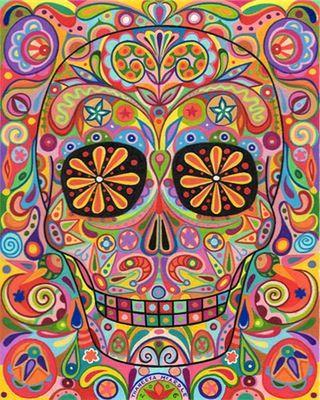 Calavera...Day of The Dead...