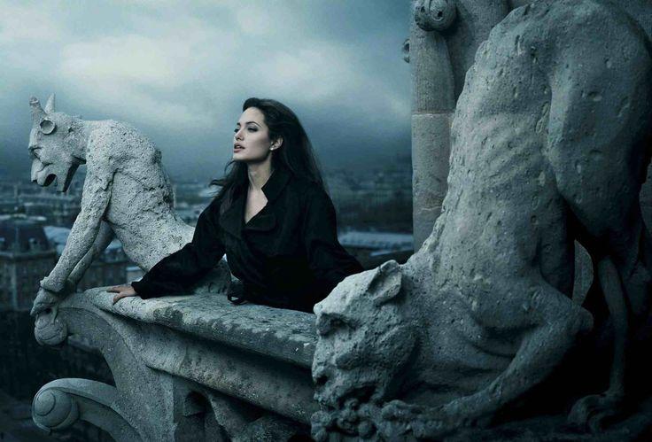 Annie Leibovitz photography Angelina Jolie Disney #mystery