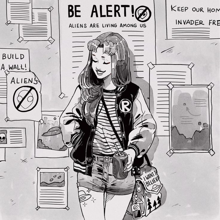 Aliens! Living among us! by Picolo-kun.deviantart.com on @DeviantArt