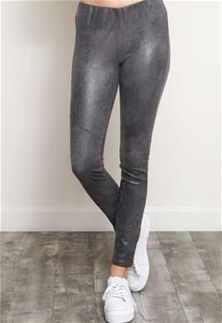 21db7abe3273c Wishlist+Clothing+Suede+Leggings+for+Women+in+Grey+BK9039L-GREY ...