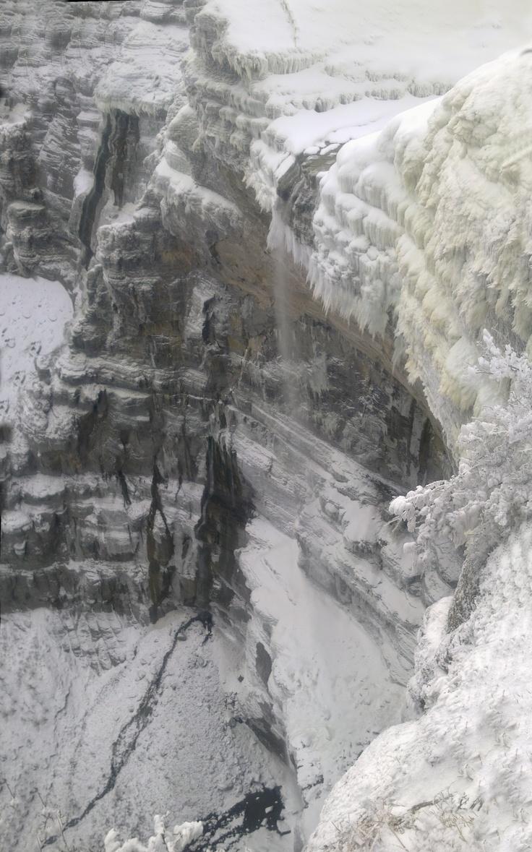 Cascada del Nervion, en El Monte de Santiago