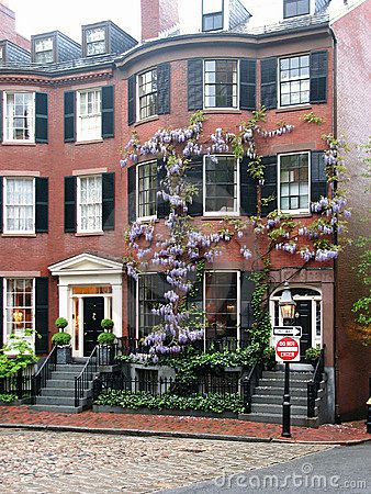 louisburg square. wanna own a townhouse here some day.