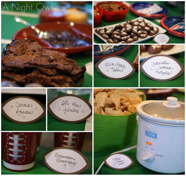 {Party Rock} A Superbowl Soiree - A Night Owl Blog