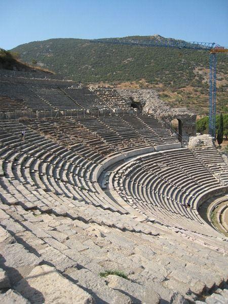 Ephesus, Kusadasi, Turkey   This will be the highlight...seeing the city where Paul spent 2 years of his life preaching and teaching.