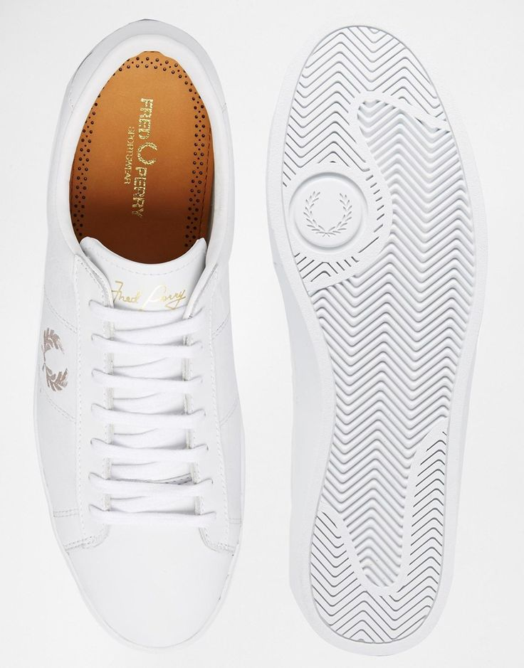 Fred Perry - Spencer - Leather trainers. Finally jumping on the white sneaker trend I guess, ordered these today
