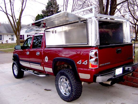 Truck Bed Tool Boxes High side tool box (diamond