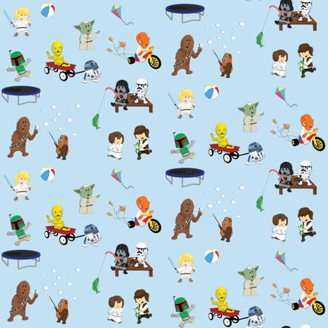SW Kids 4x4 fabric by nixongraphix on Spoonflower - custom fabric
