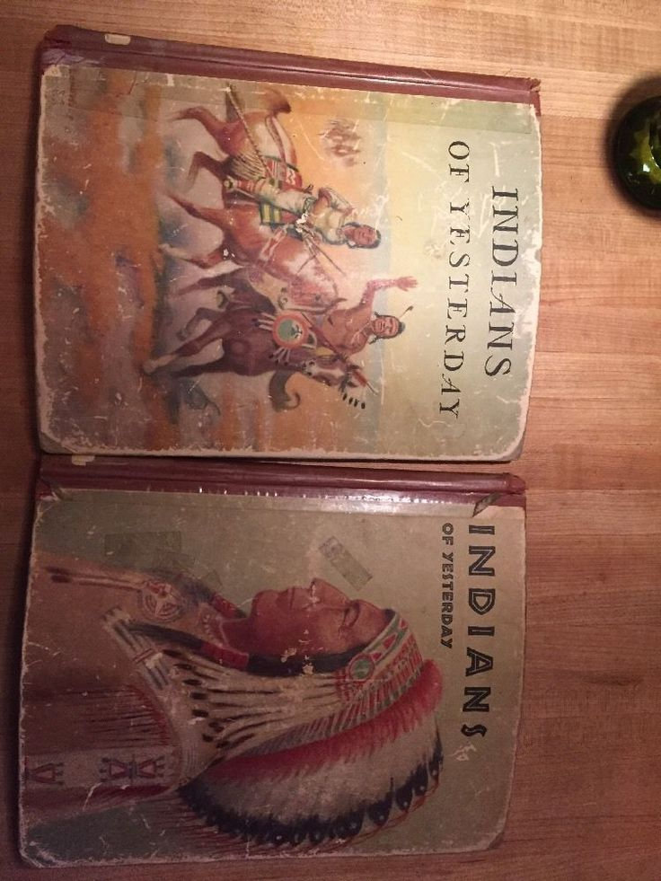 Indians Of Yesterday Marion E. Gridley Illustrated by Lone Wolf 1940  | eBay