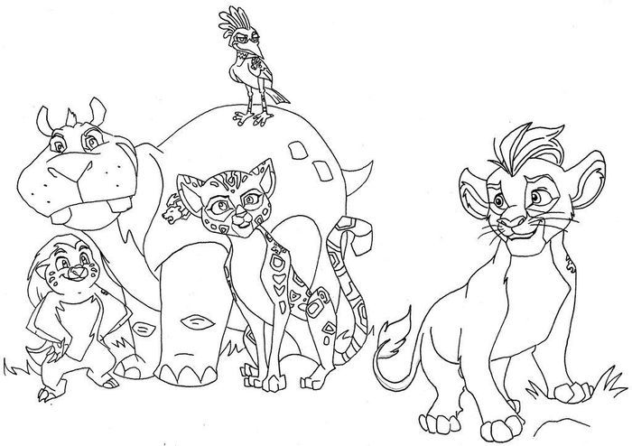The Lion Guard Coloring Pages In 2020 Lion Coloring Pages Free Coloring Pages Coloring Pages
