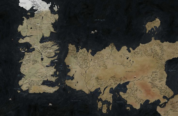 Fresh game of thrones map images game of thrones map