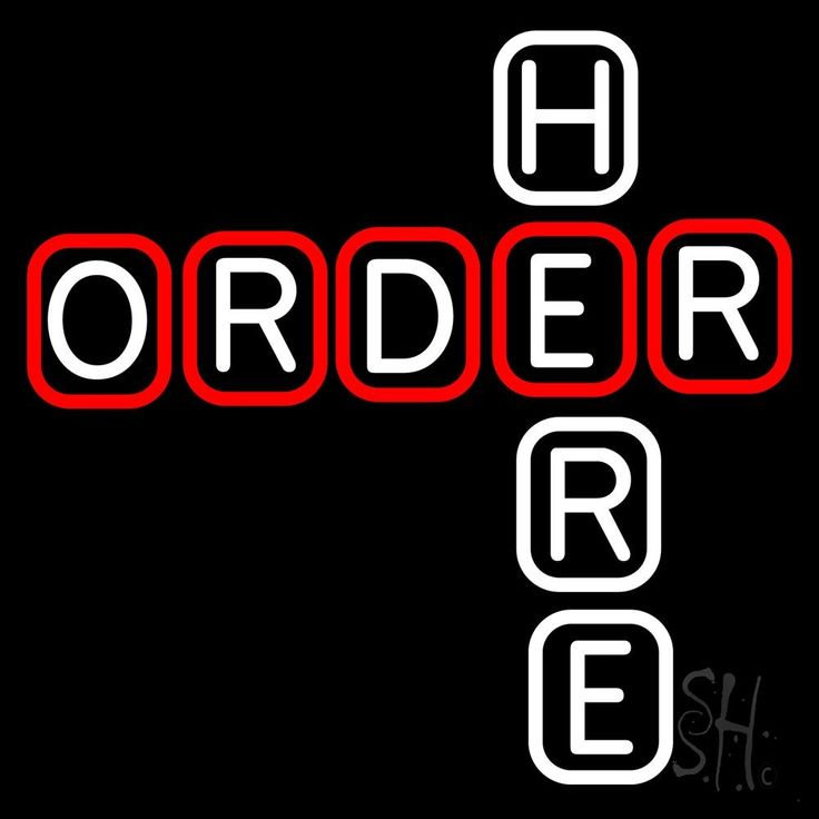 Block Order Here Neon Sign 24 Tall x 24 Wide x 3 Deep, is 100% Handcrafted with Real Glass Tube Neon Sign. !!! Made in USA !!!  Colors on the sign are Red and White. Block Order Here Neon Sign is high impact, eye catching, real glass tube neon sign. This characteristic glow can attract customers like nothing else, virtually burning your identity into the minds of potential and future customers. Block Order Here Neon Sign can be left on 24 hours a day, seven days a week, 365 days a year...