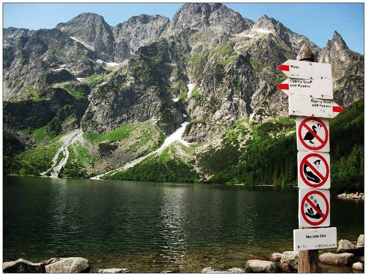 Morskie Oko - Tatry #krajobrazy #górskie #Poland #Polska #zdjęcia #HDR #photography #landscapes #góry #Mountains #Tatry #Tatra #Mountains