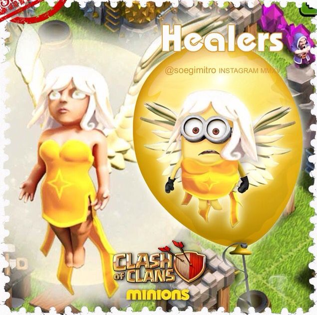 Clash of Clans  Healers Minions
