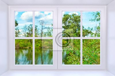 Wall Mural Window to nature