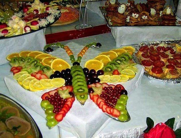 Butterfly Fruit Platter...
