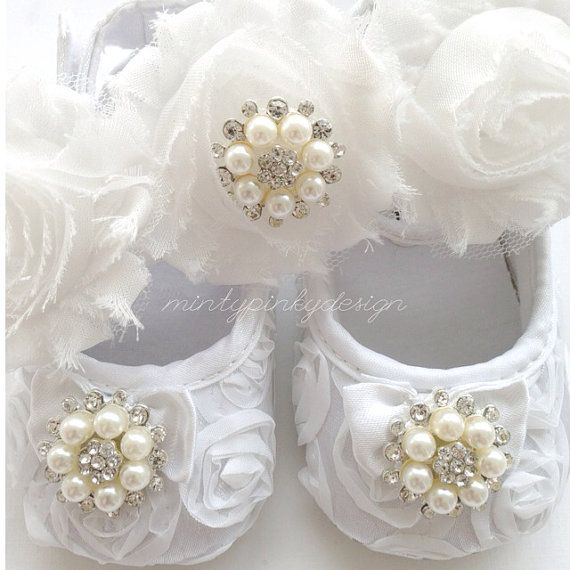 Hey, I found this really awesome Etsy listing at https://www.etsy.com/listing/171045903/white-baby-girl-satin-crib-shoes-3-6-12