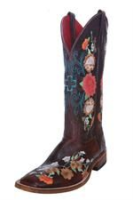 Anderson Bean Boots Women's Macie Bean Sweet Sixteen Floral Cowgirl Boots