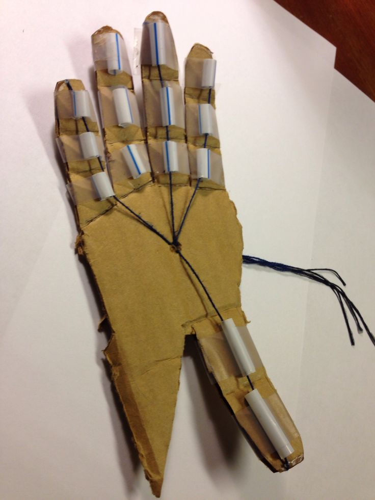 "Cub scout Bear adventure Robotics: How to Make a ""Robotic Hand"""