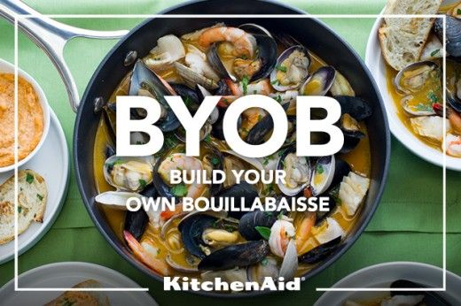 Mixed Seafood Bouillabaisse