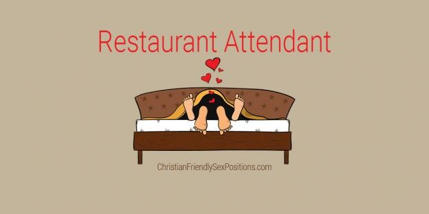 Christian friendly sex position great for vacation sex: Restaurant Attendant  #MarriageBed