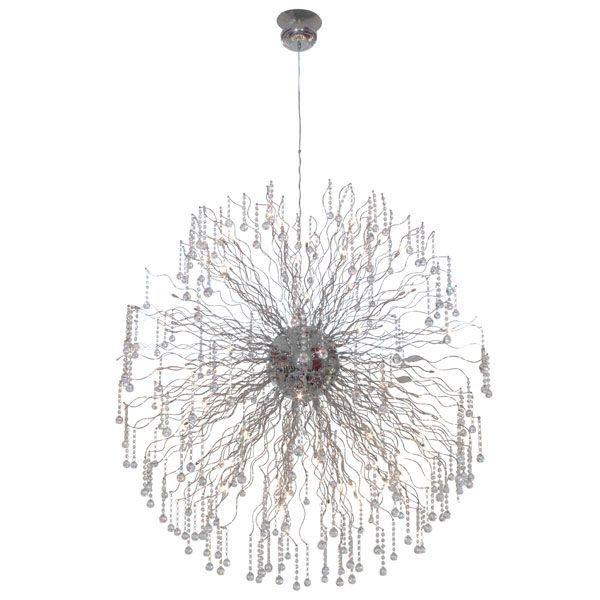 Eurolux P304 - Meteor Extra Large Crystal Pendant With Cable Suspension