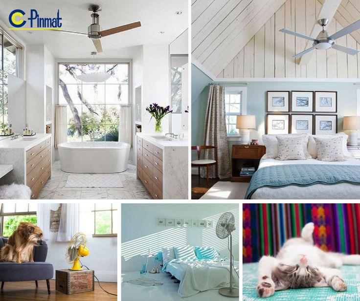 UN HOGAR FRESCO CON VENTILADORES. Ólvidate del calor  Mantén tu hogar fresco y confortable sin aire acondicionado.
