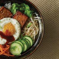 Tofu Bibimbap by @mytexaslife