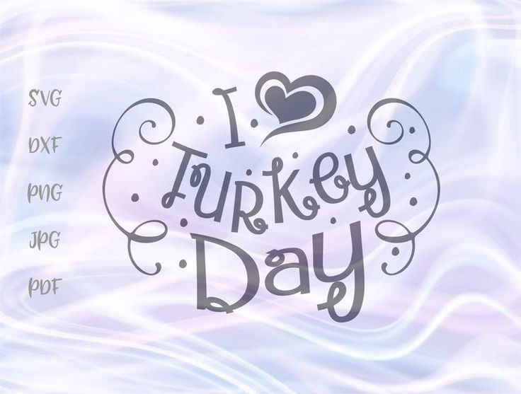 Happy Thanksgiving SVG File for Cricut Saying I Love ...