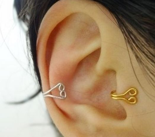 Small Ear Cuffs Tutorial ~ The Beading Gem's Journal  #Wire #Jewelry #Tutorials