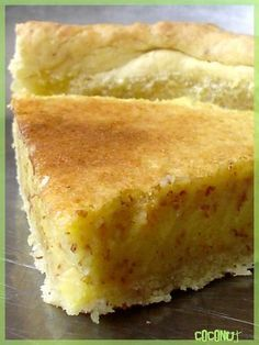 TARTE aux AMANDES et au CITRON - Blog Coconut - Cuisine | Foodisterie | Home-Made