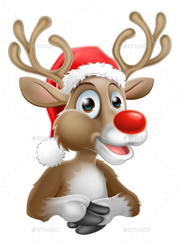 cartoon reindeer with christmas santa hat cartoon reindeer christmas cartoon characters christmas cartoons cartoon reindeer with christmas santa