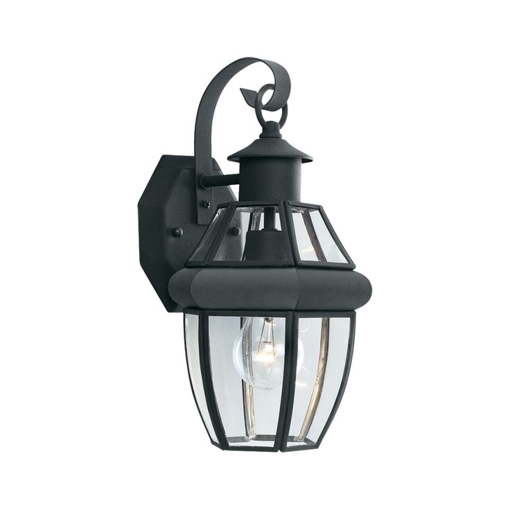 Thomas Lighting SL94137 Heritage Collection Black Finish Traditional Wall Sconce