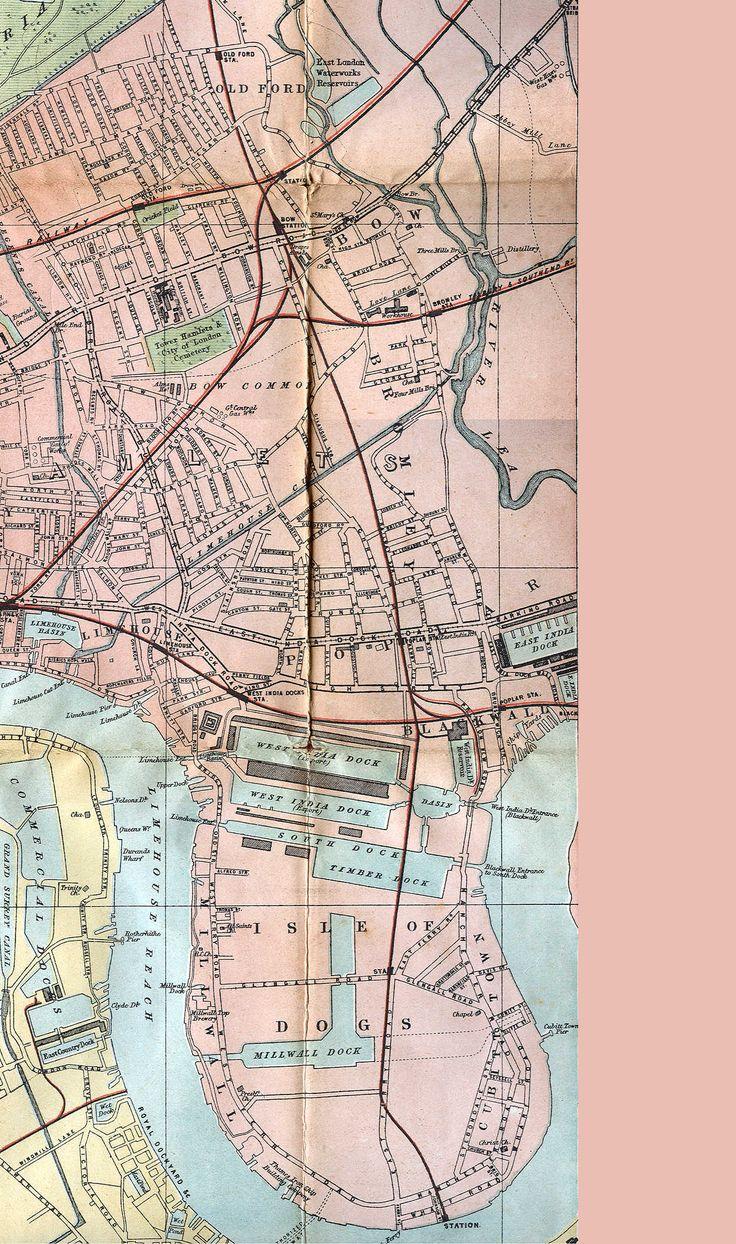 "W. H. Smith & Son's 1875 ""Plan of London"""