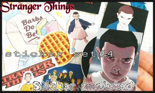 Eleven - Stranger Things movie cute stickers phonecase diary laptop Stickers in Crafts, Kids' Arts, Crafts, Stickers | eBay!