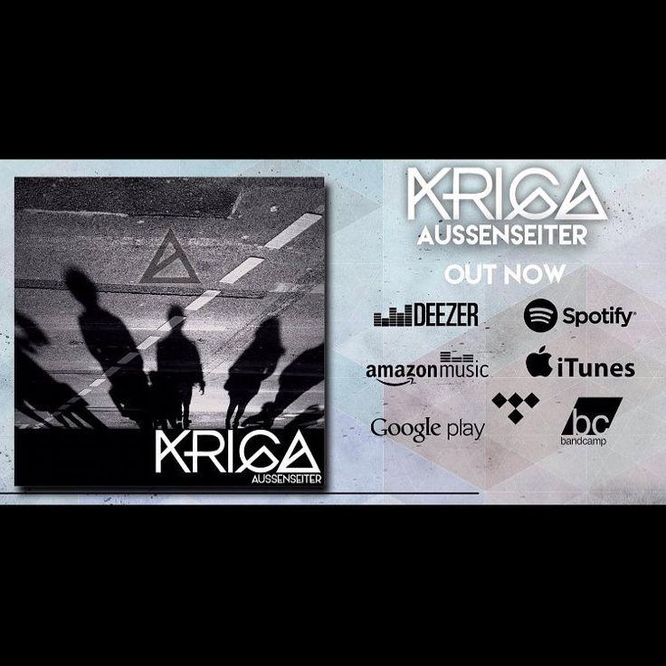 Unser Album Aussenseiter ist ab sofort überall digital erhältlich!!! 👌🏻 . . #kriga #krigaband #band #musik #köln #cologne #newcomer #music #metal #musicians #bonn #metalcore #deutsch #guitar #bass #drums #aussenseiter #album #record – Battique