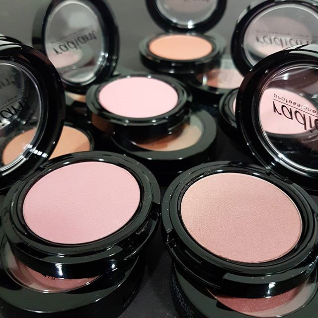 Choose the shade that suits you best from our Blush Color range and add a perfect flush to your cheeks!  #blusher #blushers #blush #blushcolor #cheeks #makeup #radiantprofessional