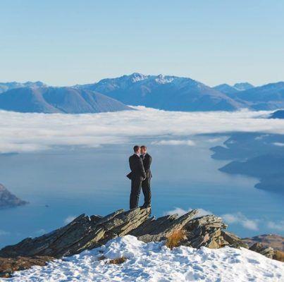 Win a Queenstown same sex wedding worth over $5,000!! #samesex #gay #lesbian #lgbt #alliance #wedding #elopement #ceremony #winawedding #queenstown #newzealand #freewedding #weddingprize #giveaway #competition #realwedding