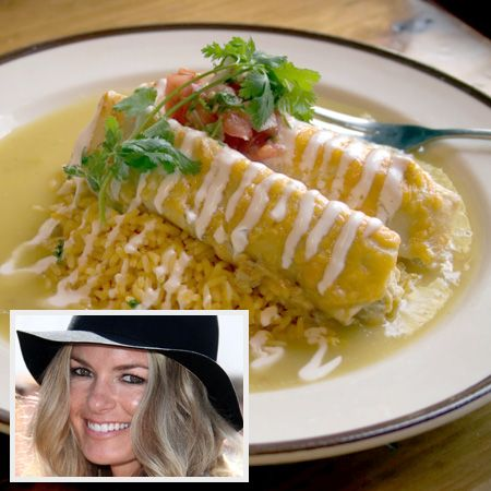 Marisa Miller's recipe for enchiladas verdes