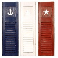 nautical shutters for boys bedroom