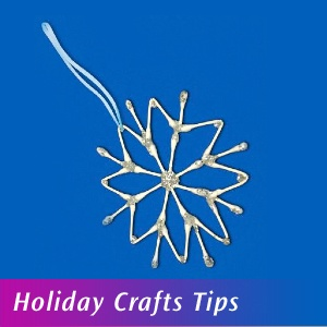 Holiday Crafts Tips with Q-tips