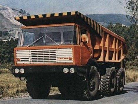1967-1982 Tatra T813 6x6