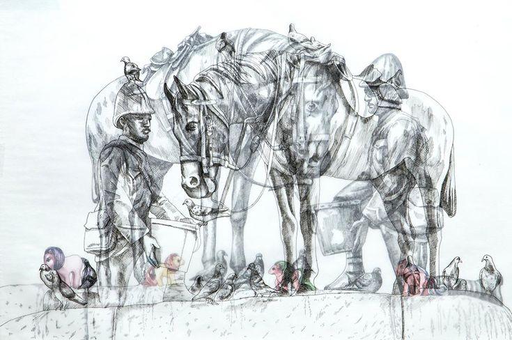 Adele van Heerden | Port Elizabeth Horse Memorial | Art For Sale | StateoftheART
