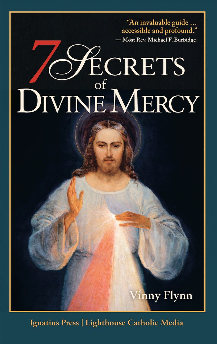 In this compelling and timely book, Vinny Flynn draws from Scripture, the teachings of the Church, and the Diary of St. Faustina to not only reveal the heart of Divine Mercy, but to offer you an invitation and a road map so that this mercy can transform your life. (http://store.casamaria.org/7-secrets-of-divine-mercy-vinny-flynn/)
