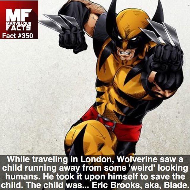 Wolverine saved Blade !!! ...°°
