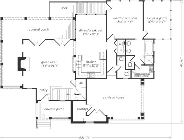 southern living house plans tiny. Southern Living  Ashton Floorplan Reverse layout and extend roofline over covered porch Then add vaulted windows in great room replacing 10 best Our Most Pinned Floor Plans Sater Design Collection