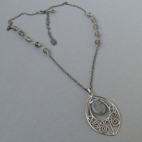 #filigree #necklace #silver  #handmade #amade
