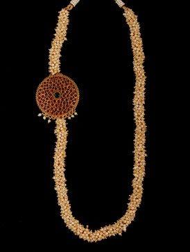Round Kemp Necklace