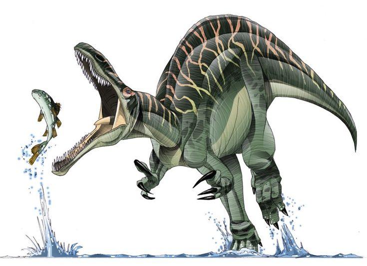 Tim Bradley - Paleo Art Suchomimus