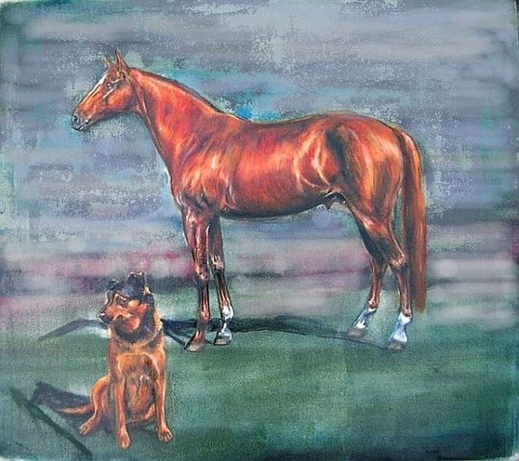 Find What Colors to Mix for Painting a Chestnut Horse